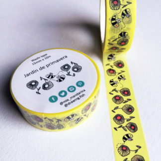 washi tapes giardino di primavera
