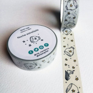 washi tapes notte stellata