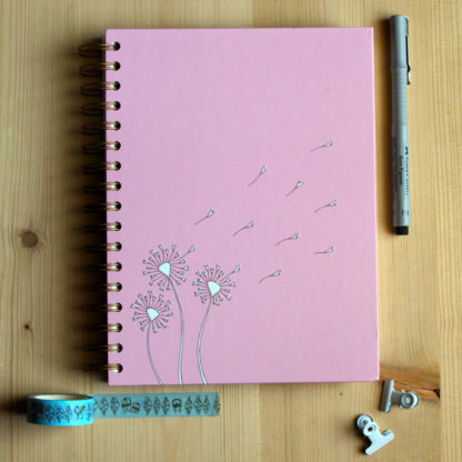 notebook rosa